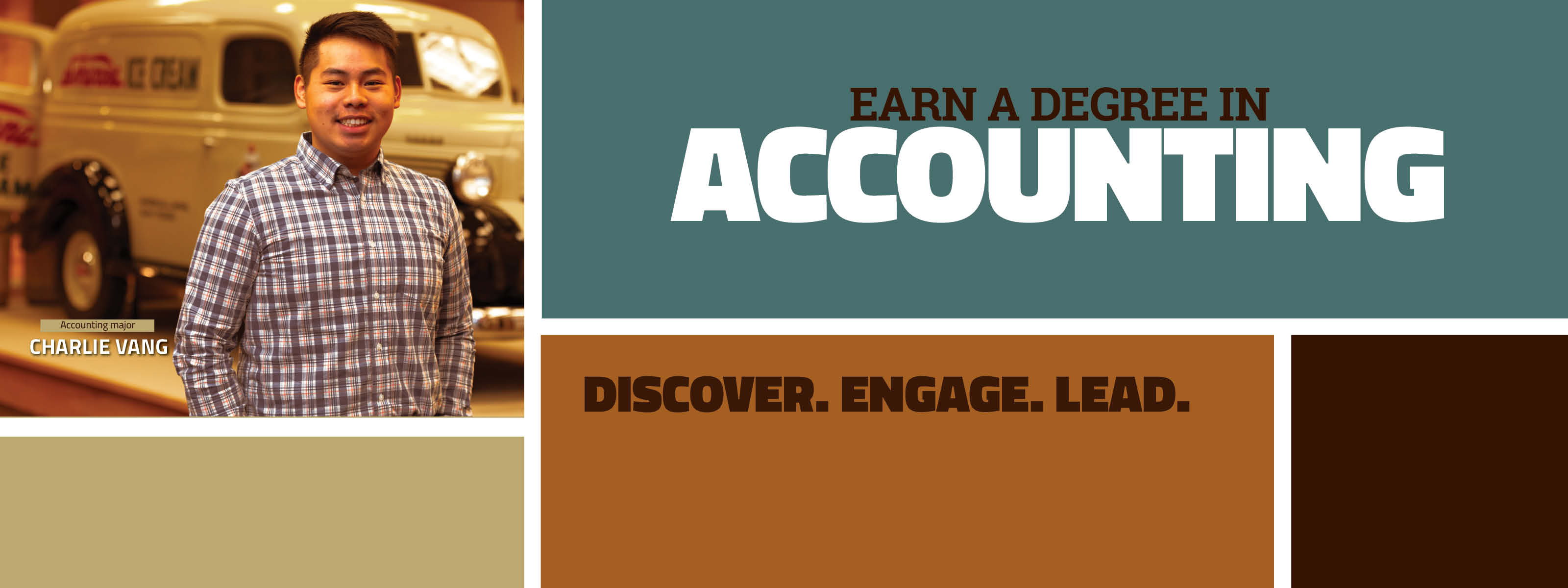 Earn A Degree In Accounting - Discover. Engage. Lead.