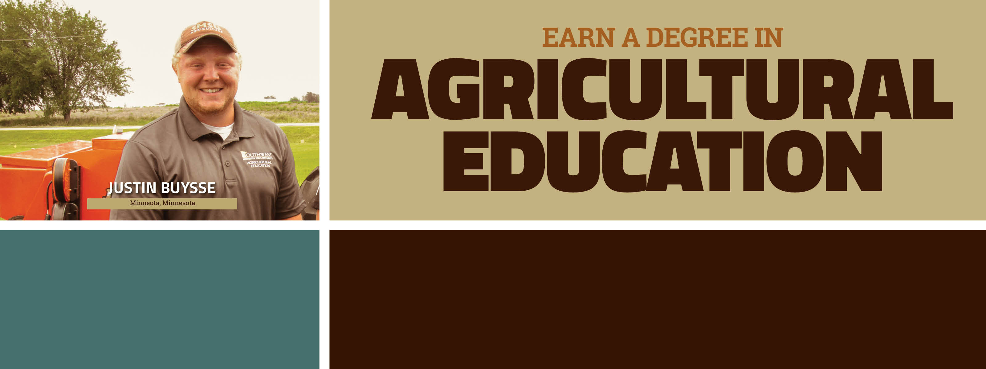 Earn A Degree In Agricultural Education - Discover. Engage. Lead.