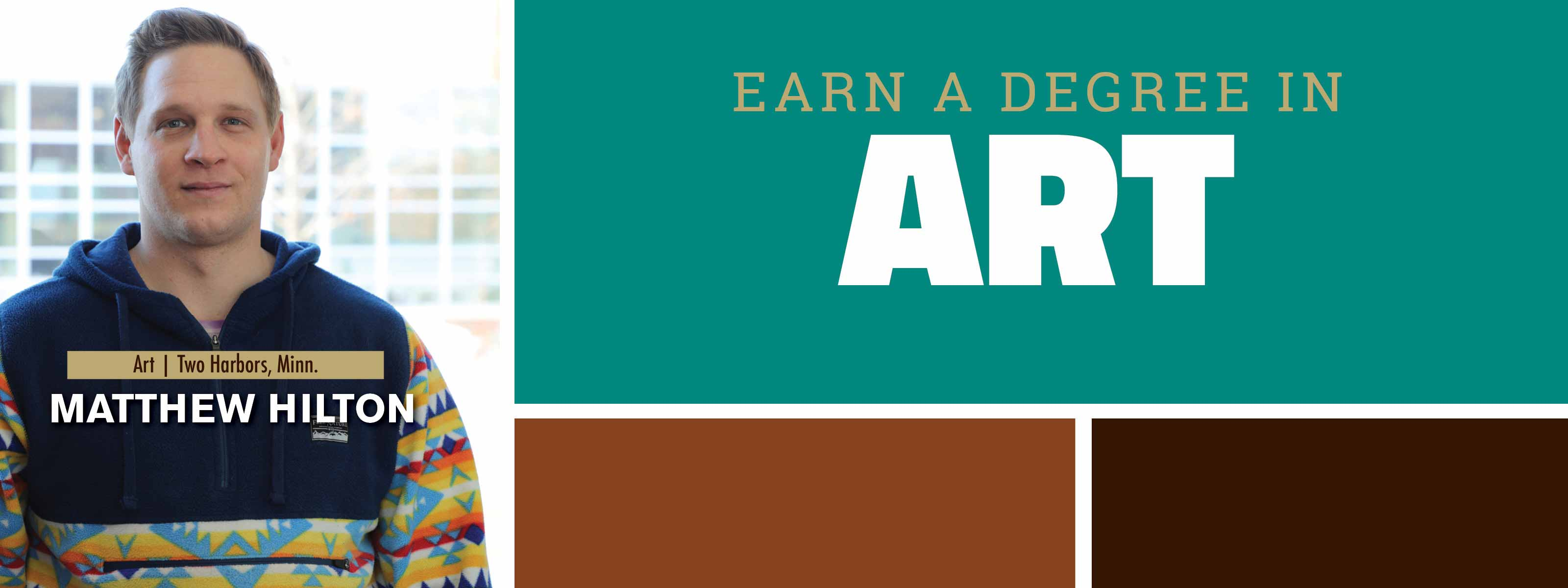 Earn A Degree In Art - Discover. Engage. Lead.