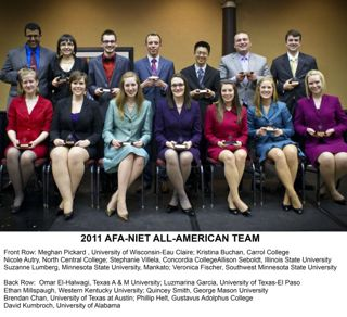 2011 AFA-NIET All American Team
