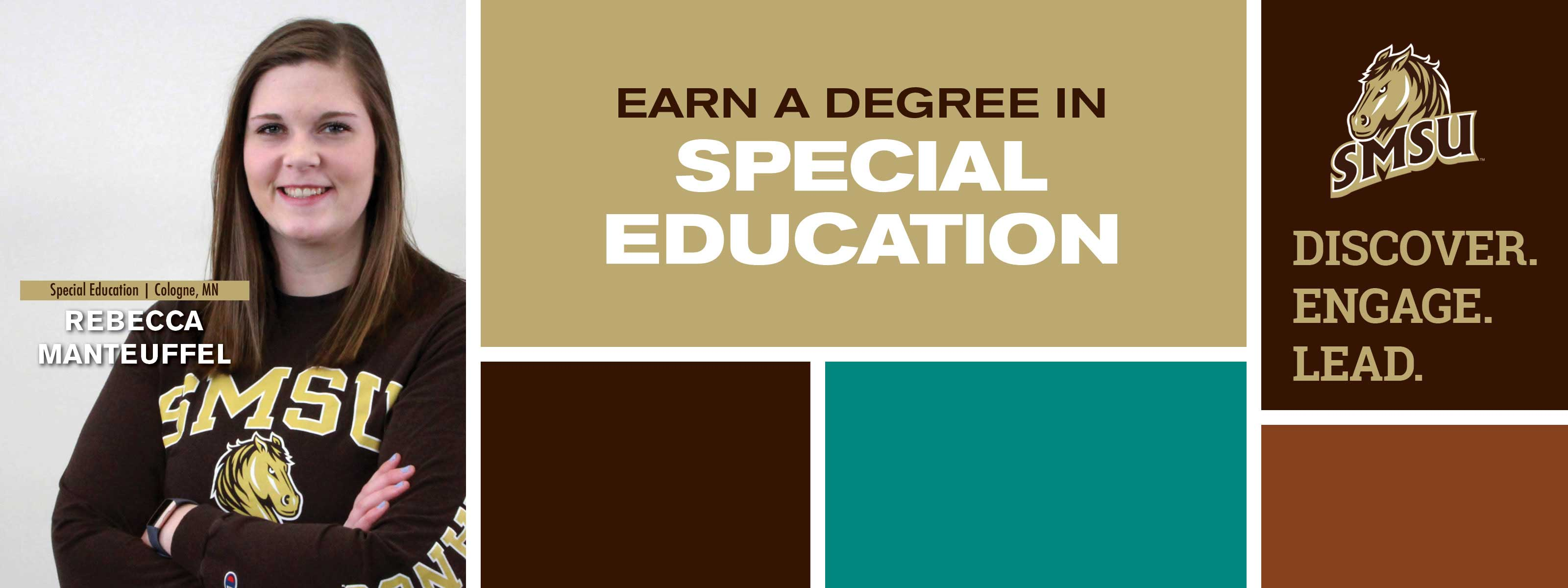 Earn a degree in Special Education - Discover. Engage. Lead.