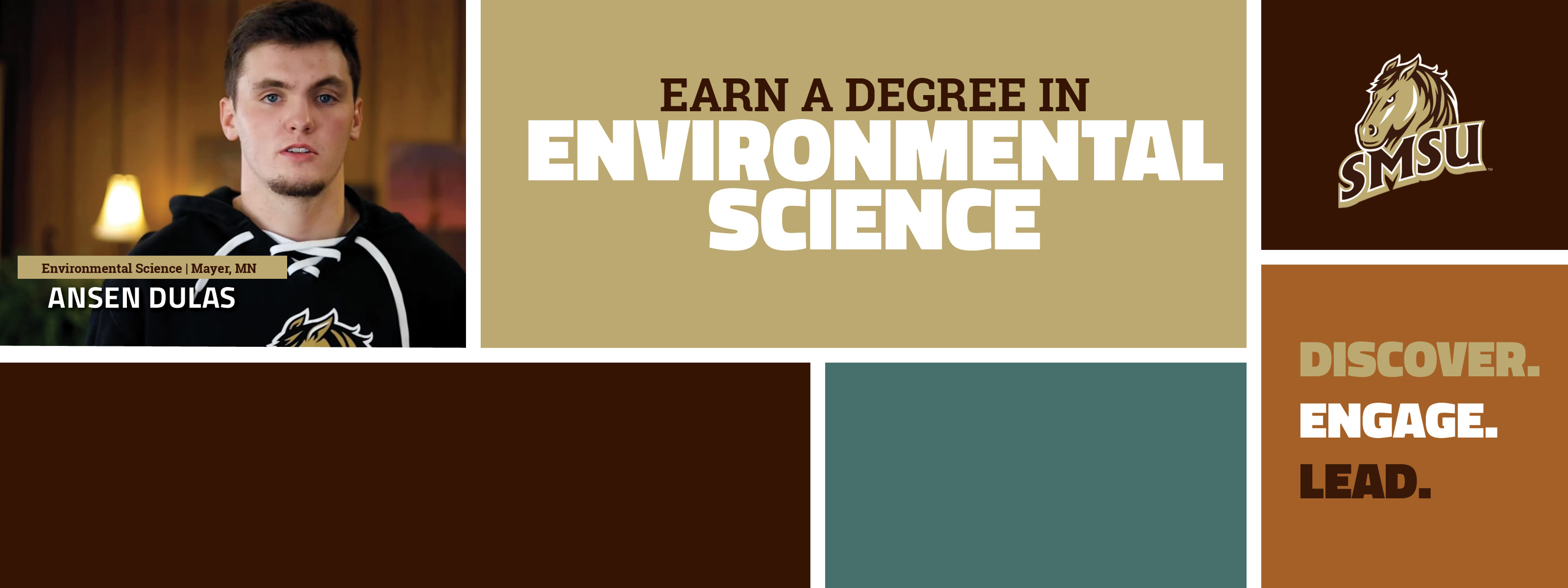 Earn A Degree In Environmental Science - Discover. Engage. Lead.