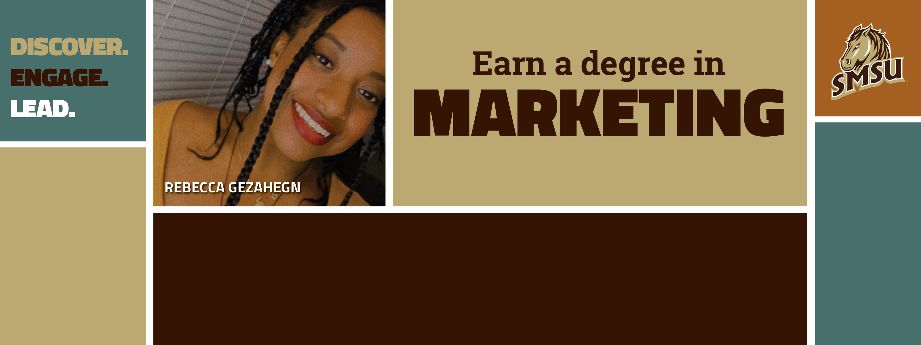 Earn A Degree In Marketing - Discover. Engage. Lead.