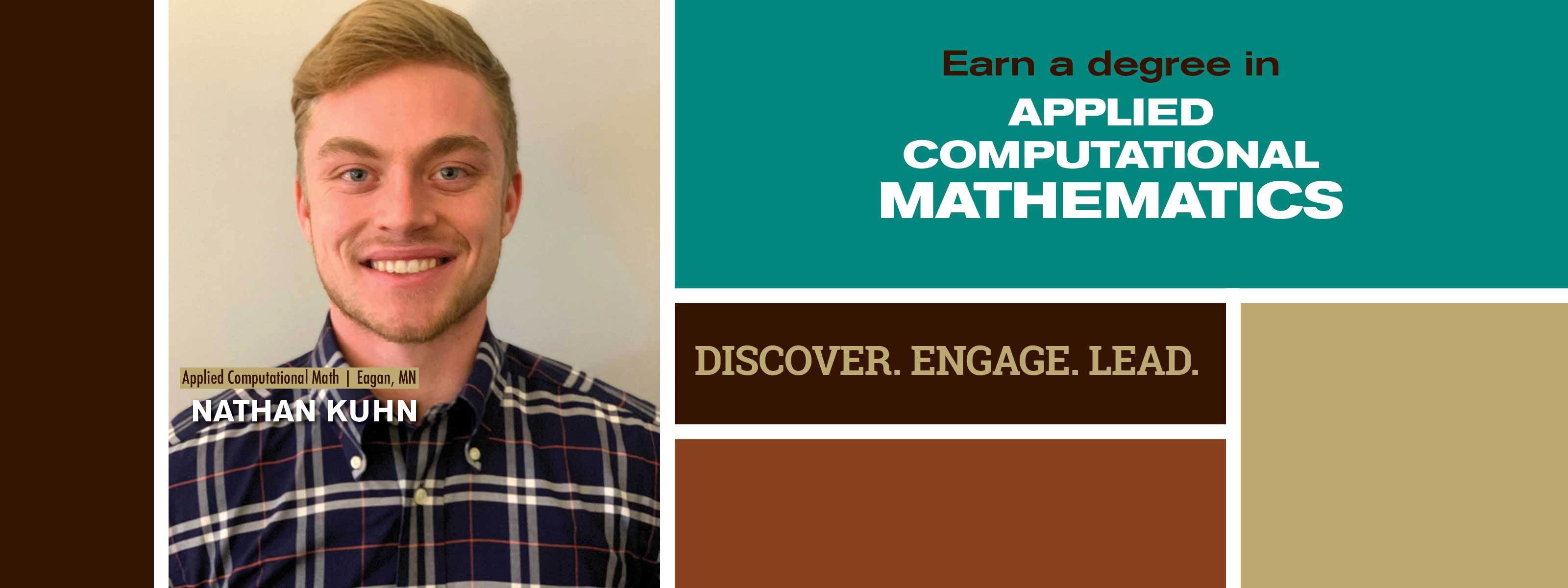Earn A Degree In Applied Computational Mathematics - Discover. Engage. Lead.