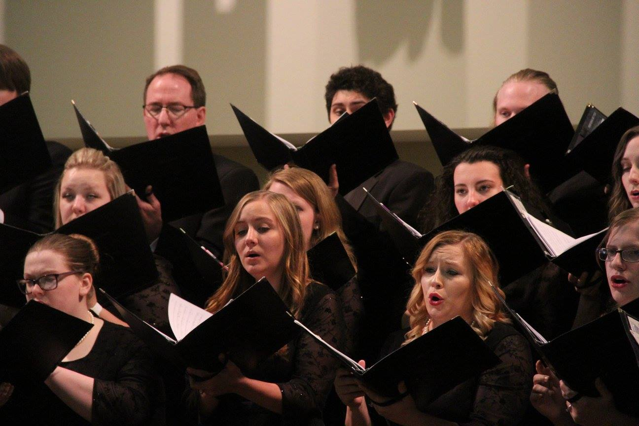 SMSU Choir Students