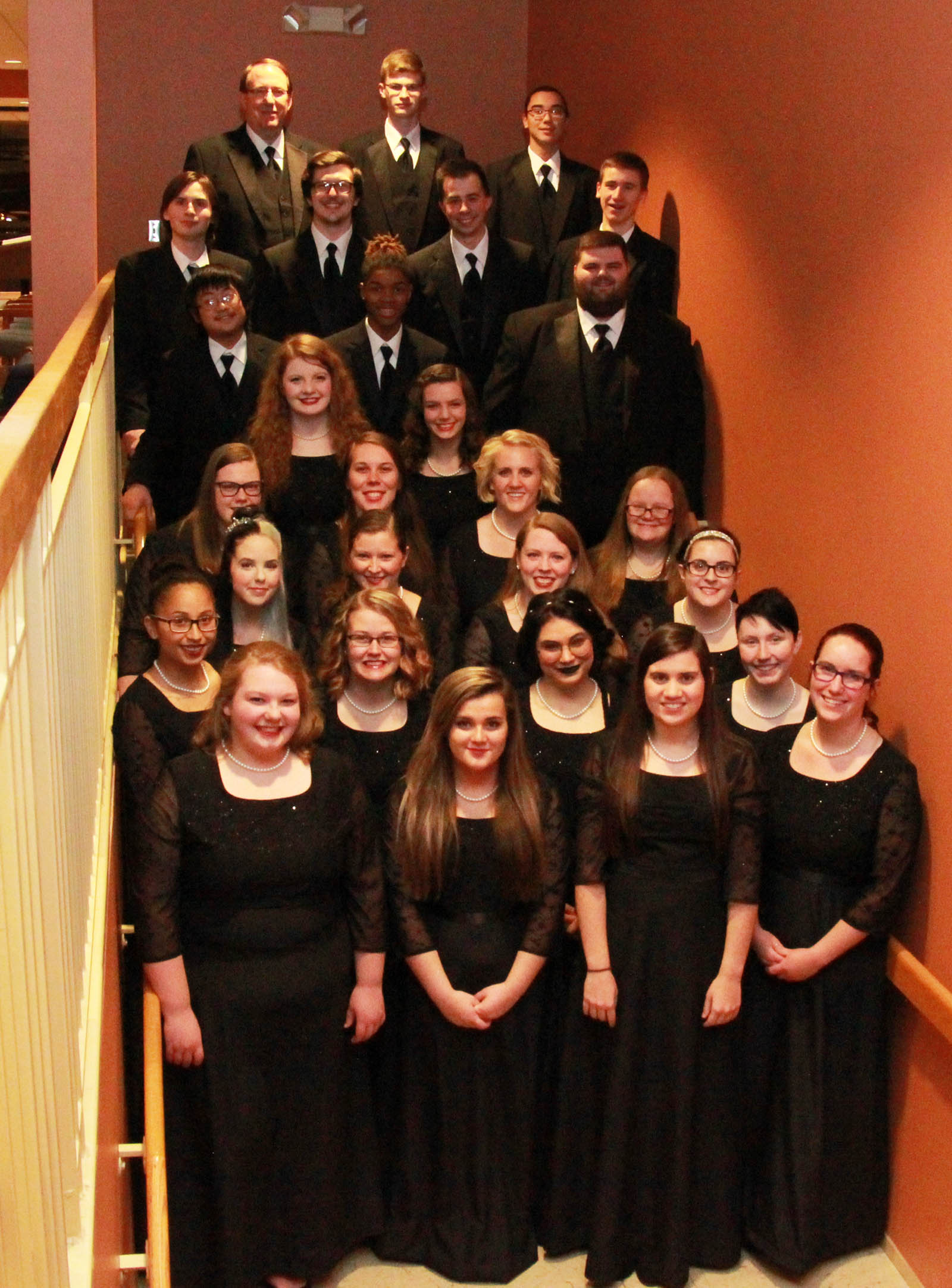 picture of the 2018 Chorale