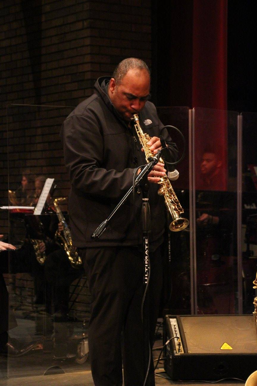 Rob Dixon on Soprano sax