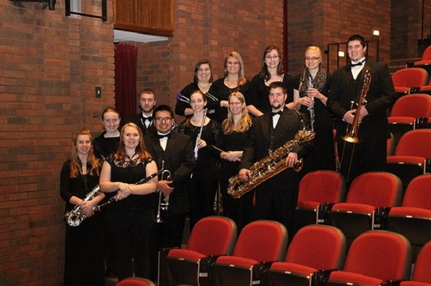 Symphonic Chamber Winds group photo