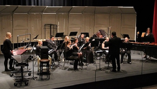Symphonic Chamber Winds in performance