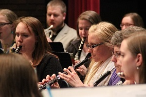 high woodwind section