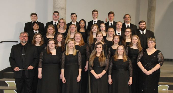 picture of the 2019 SMSU Chorale