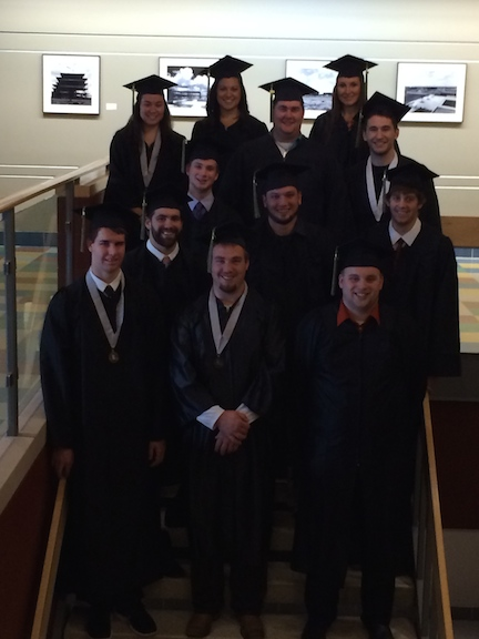 2014 graduates of the Physical Education programs