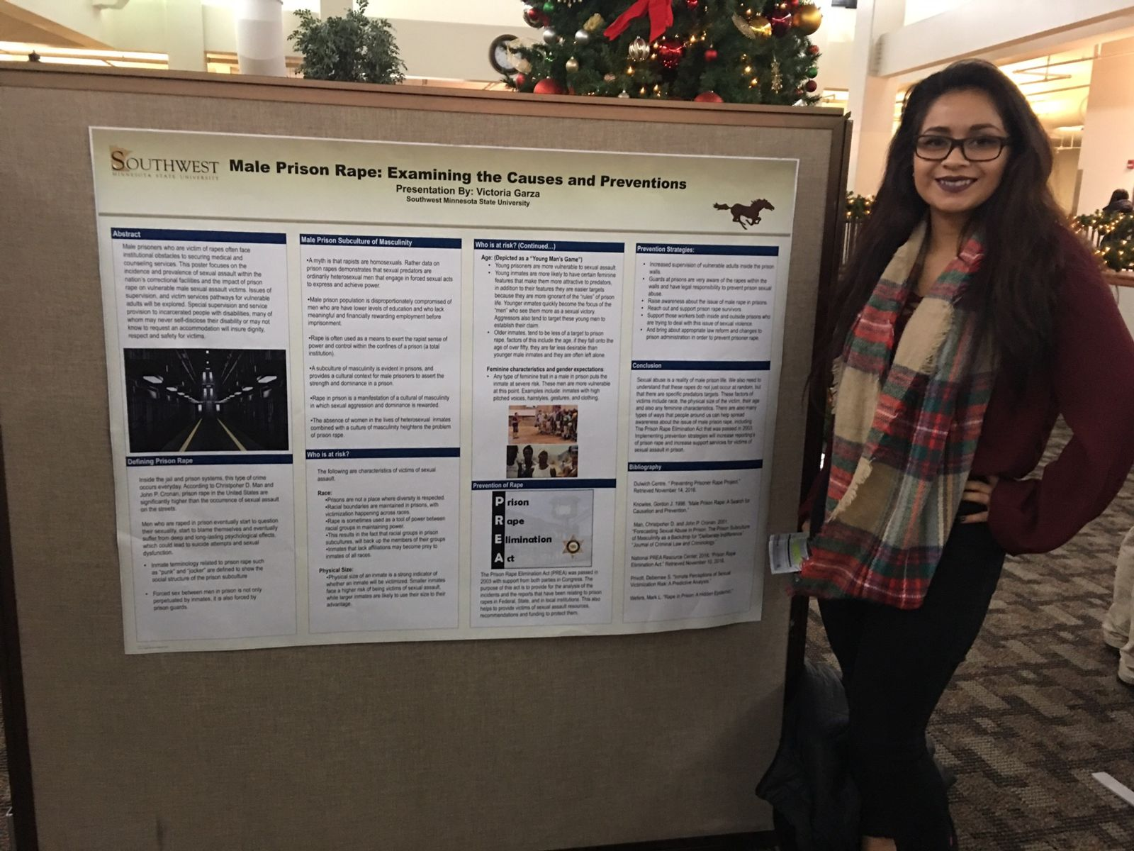 Sociology student URC poster