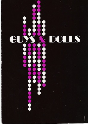 program from guys and dolls