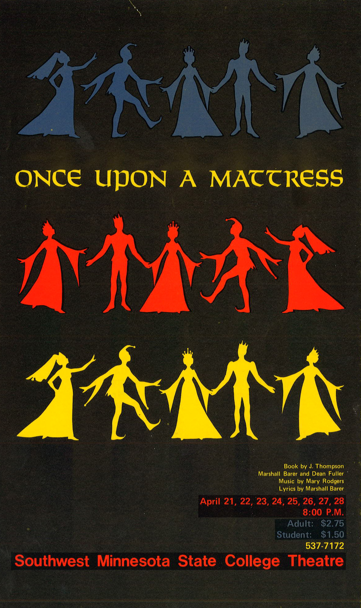 Program Once upon a mattress