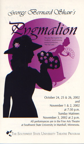 program from pygmalion