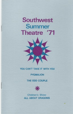 summer theatre program