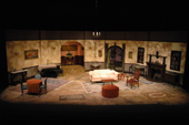The beautiful set of Blithe Spirit