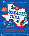 Greater Tuna Poster