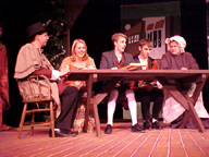 The Cratchit Family in performance