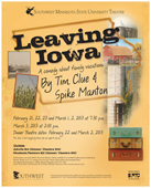 Leaving Iowa Poster