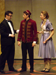 Harry and Annabel confuse the bellhop.
