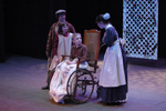 Colin is taken to the garden at night by Martha, Dickon and Mary