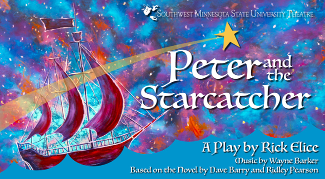 peter and the starcatcher poster graphic