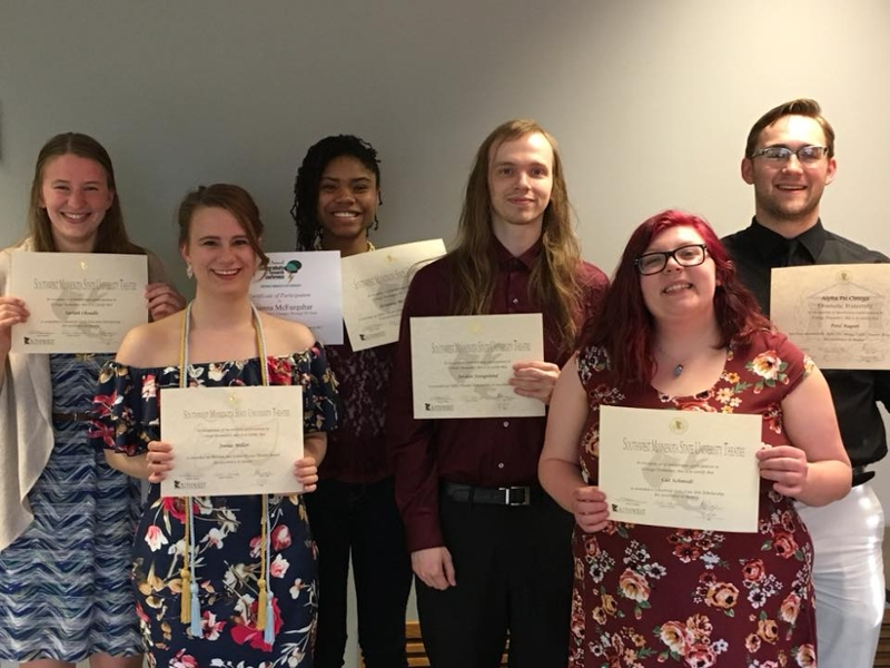 Scholarship recipients 2018