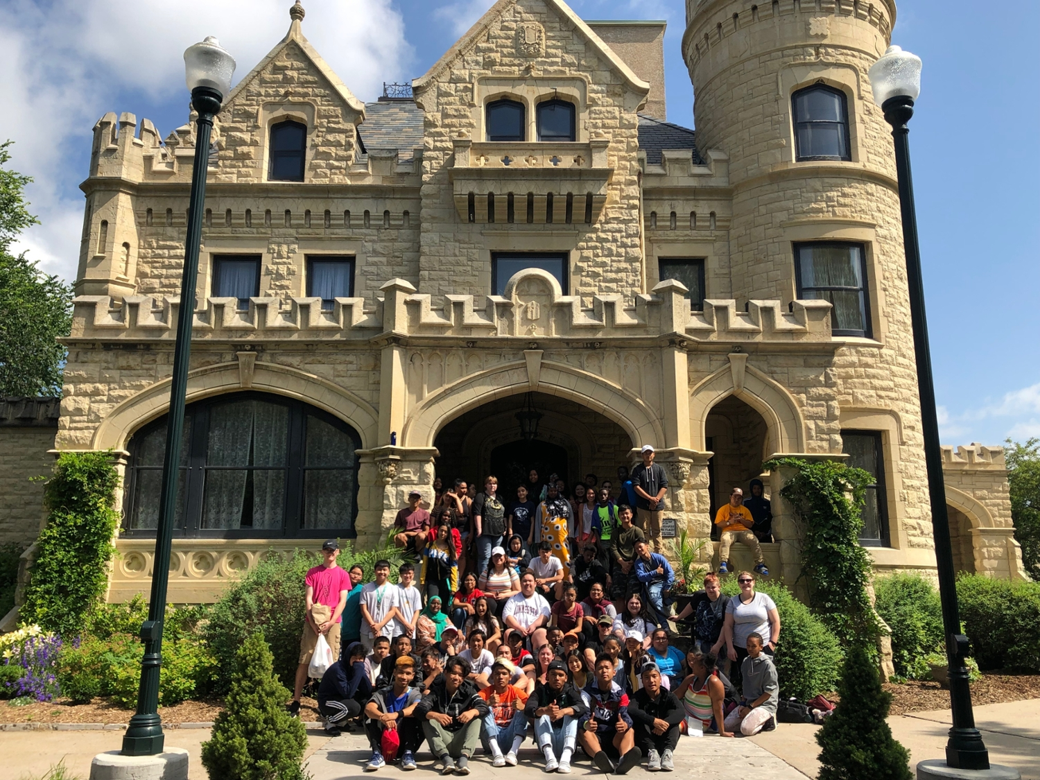 Summer Group at Joslyn Castle
