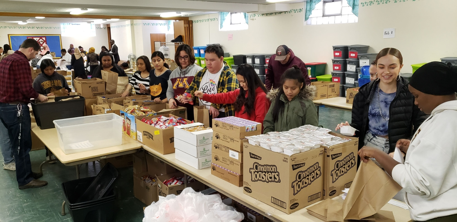 Food4Kids Packing