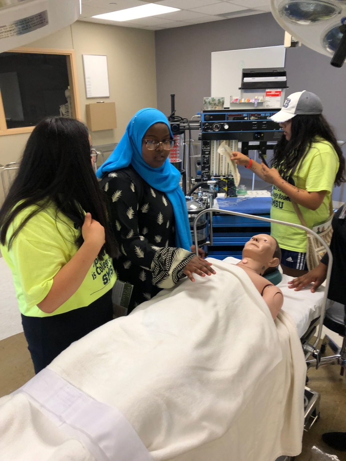 St. Cloud Tech College Visit with Health Care Focus
