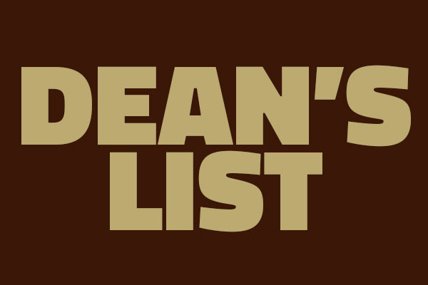 Dean's List Announced for Spring Semester 2020