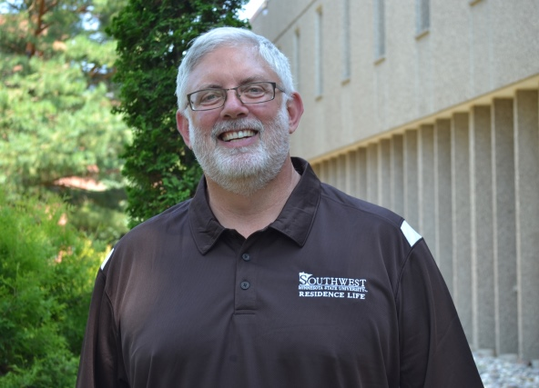 Photo of the SMSU Dean of Students, Mr. Scott Crowell