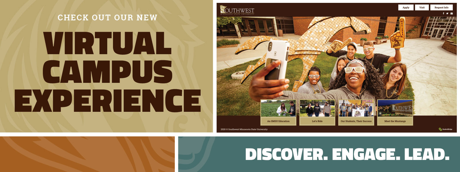 Check out our new Virtual Campus Experience - Discover. Engage. Lead.
