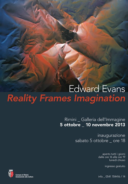 Edward Evans 2013 Exhibit Poster