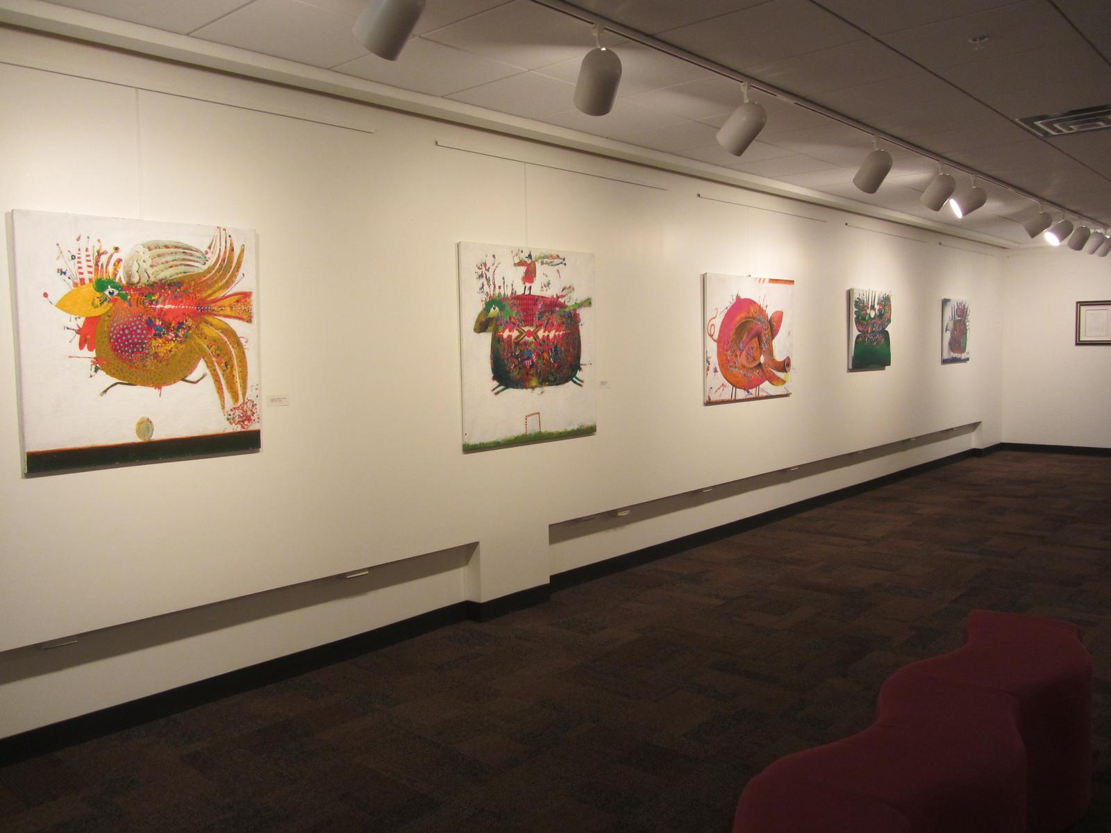 Gallery View, Elso Schiavo Exhibit