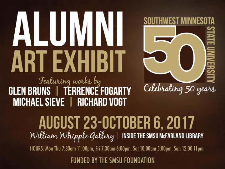 Alumni Art Exhibit for 50th Anniversary