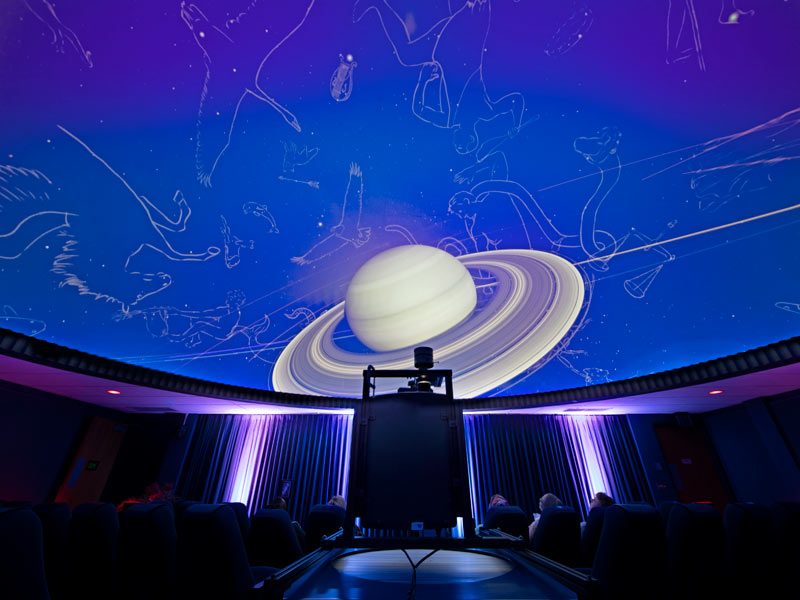 Photo for a planetarium show