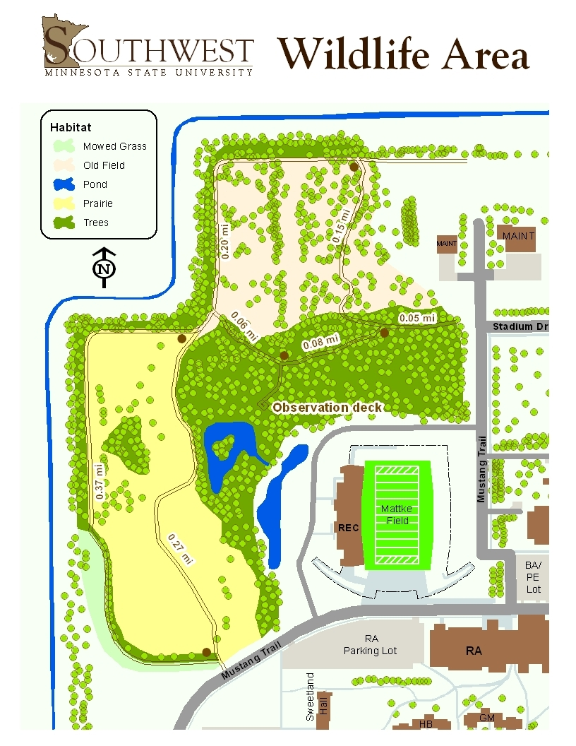 Maps | Southwest Minnesota State University