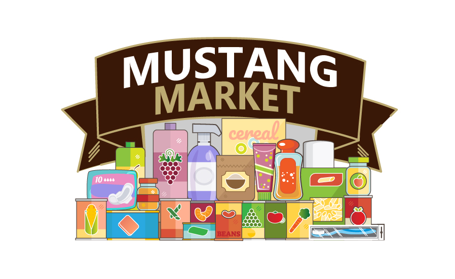 mustang market graphic