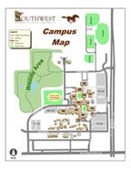 Mankato State Campus Map.Gis Center Maps Southwest Minnesota State University