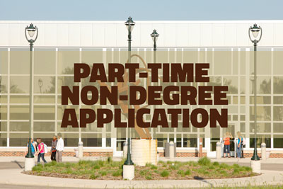Part time non-degree application