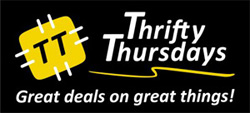 Thrifty Thursdays Logo