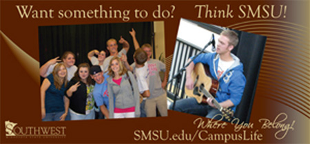 Want Something To Do?  Think SMSU!