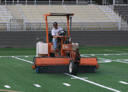 stadium sweeper