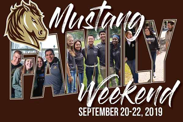 Mustang Family Weekend