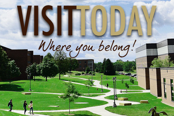 Visit Campus Today!