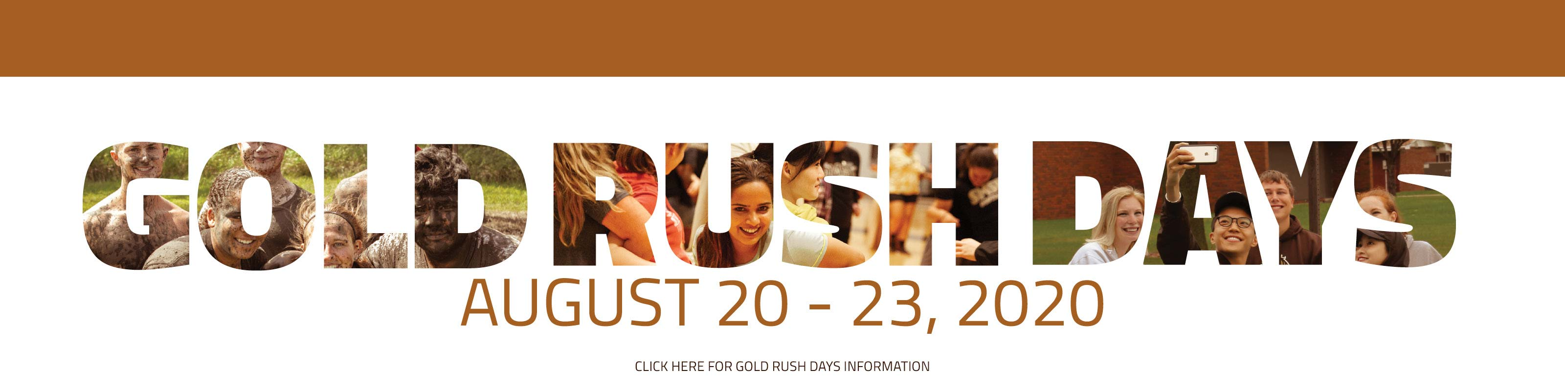 Gold Rush Days - August 20-23, 2020