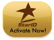 StarID Activate Now!